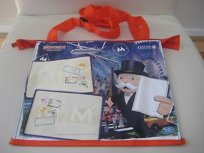 Qatar Airlines Monopoly  Childrens Pack Bag Game