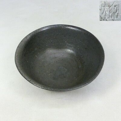 D146: Korean bowl of excavated earthenware vessel of Silla called SHIRAGI style
