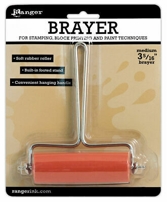 Ranger Medium Brayer Rubber Roller Size 84mm