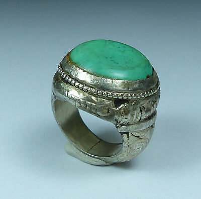 Beautiful Post Medieval Antique Silver Ring (03)