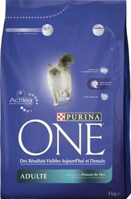 Purina One Chat - Purina One CT - Adulte Poisson de Mer - 3 kg - 2000466 NEUF