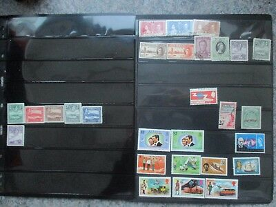 ESTATE SALE: Antigua on pages - heaps - FREE POSTAGE (3372)