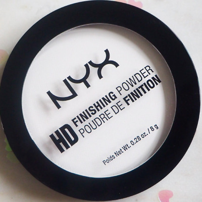 NYX HD Finishing Powder Translucent 8g - New