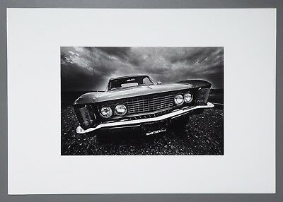 Jeanloup Sieff Ltd. Edition Photo Litho 49x34cm La grosse voiture Las Vegas 1963