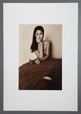 Jeanloup Sieff Limited Edition Photo Litho 34x49 Judy New York 1964 B&W Nude Nus