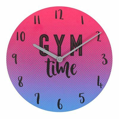 Wall Clock Ombre Gym Time Clock