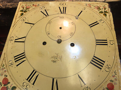 Longcase / Grandfather clock 8 day movement with 13.5 inch painted dial