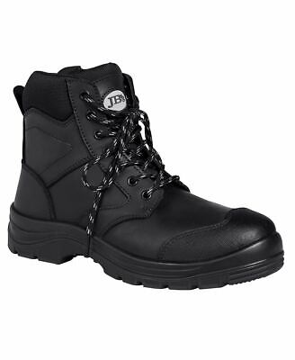 "JBS 9F2 Industry Metal steel toe cap Work Safety Comfort 5"" ZIP Boots Shoes New"