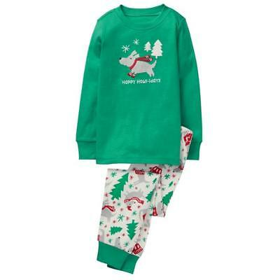 NWT GYMBOREE GYMMIES PAJAMAS BOYS HOLIDAY XMAS happy howlidays dog  u pick size