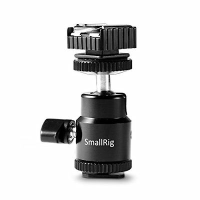 Smallrig LCD Monitor Adapter with Hot Shoe and Cold Shoe Base to Video Camcorder