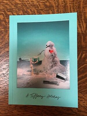Tiffany Holiday Tiffany & Co. Designer Jewelry Christmas Book 2017 Catalog NEW