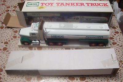 1990 Hess Toy Tanker Truck, box and inserts