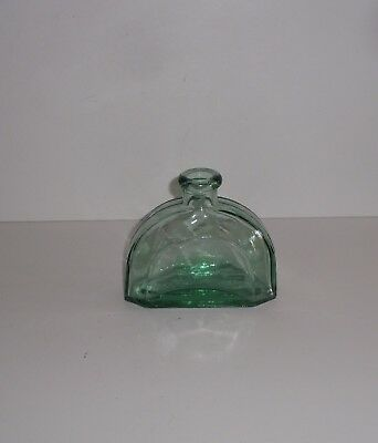 Mold Blown Glass Toilet Water  Style Heavy Domed Shoulder Glass Bottle