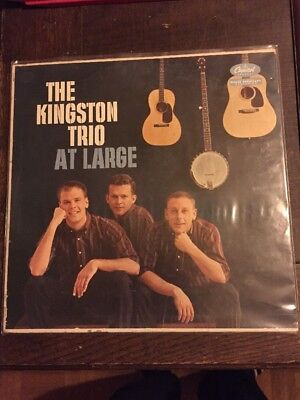 The Kingston Trio LP At Large