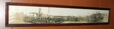 PHOTO Yard Long c1915 Mining Collectible Copper White Pine Mine UP MIchigan RARE