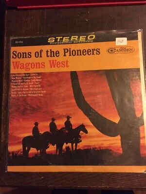 Sons Of The Pioneers LP Wagons West