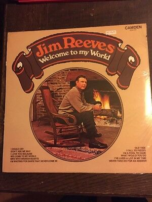 Jim Reeves LP Welcome To My World