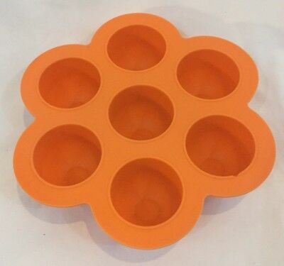 Beaba Multiportion Orange Silicone  Baby Food Freezer Container