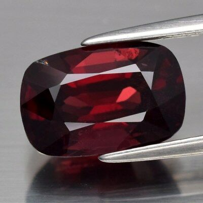 2.71ct 10.8x7.2mm Cushion Natural Red Spinel, M'GOK