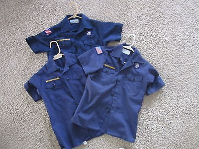 Boy Cub Scouts of America Blue Shirt YOUTH X-LARGE Your Choice of Style