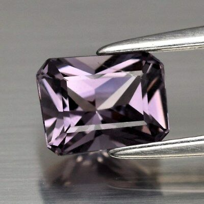 BABY COLOR! 1.13ct 6.8x5.2mm Octagon Natural Pink Spinel Unheated, M'GOK