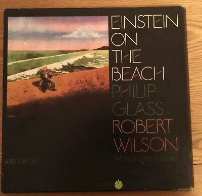 Einstein on the Beach Philip Glass & Robert Wilson Vinyl 4LPs