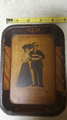advertising tip tray (pre)1938 Woodwards Candy