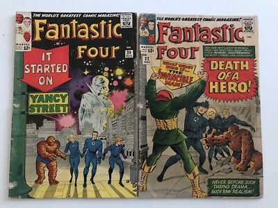 Fantastic Four #29 & 31 => Fa Early Silver Age  Reader Issues Marvel Comics 1964