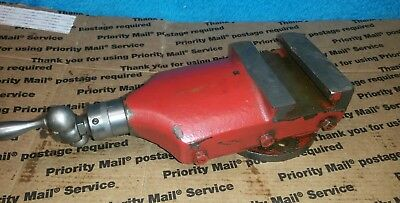"""Logan Montgomery Ward 04TLC-700A Metal Lathe 10"""" Compound w/ Dial and Handle"""