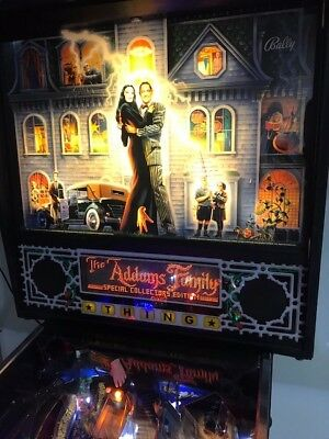 ADDAMS FAMILY PINBALL Machine Bally -1992 CLASSIC ARCADE Plays Great- GOLD  ROMS!