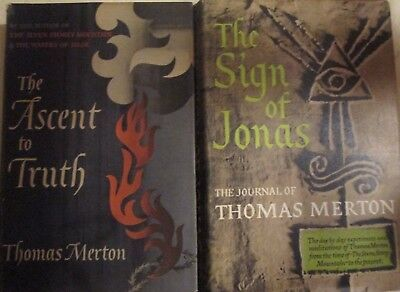 Two Thomas Merton Books With Dust Jackets 1951-1953