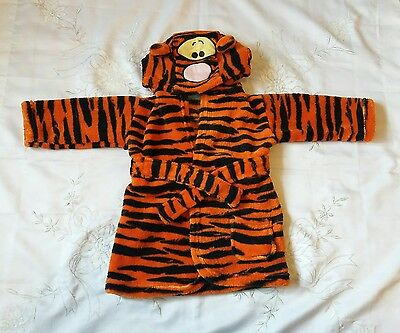 George Asda Disney Tigger Dressing Gown Robe 0-6 Months Excellent Condition