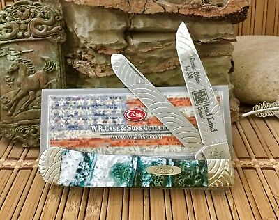 Case XX Beautiful Custom CLOUD-LAND Engraved Trapper Pocket Knife #2