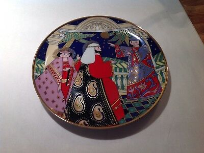 """House of Faberge NO ROOM AT THE INN Franklin Mint 8"""" plate"""