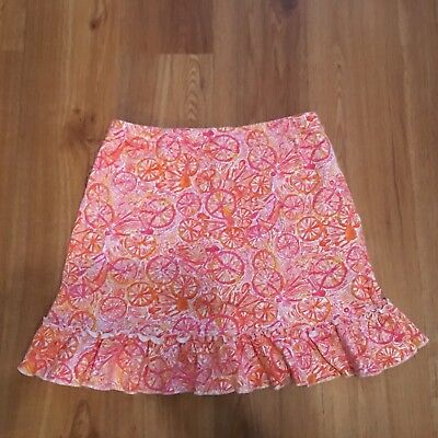 Lilly Pulitzer Girl's Bicycle Skort! GUC  XL 12-14