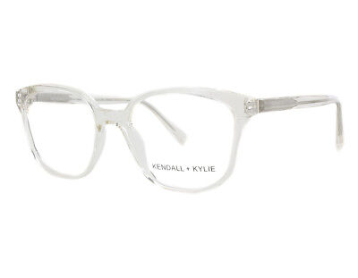 5e4dfd6ab50 NEW Kendall   Kylie KKO100 740 52mm Crystal Grey Optical Eyeglasses Frame