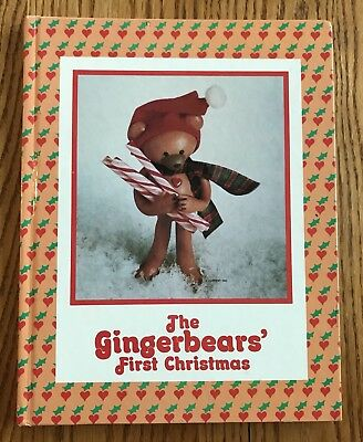 Gingerbears First Christmas Nancy McConnell Ron Oatney Hardcover 1983 Current