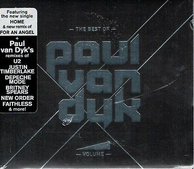 PAUL VAN DYK Volume: The Best of (CD, 2009, Ultra Records) DIGIPAK SEALED