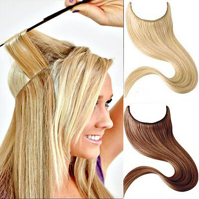 """Flip 20"""" #613 Flip In Secret Miracle Wire 100% Real Human Hair Extensions Weft"""