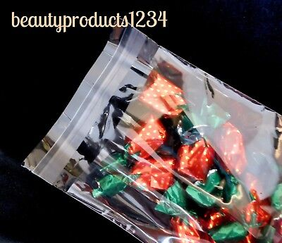 """200 PCS 4 3/4"""" x 6 3/4"""" CELLO Clear BAGS RESEALABLE Jewelry / Party FAVOR Bag"""