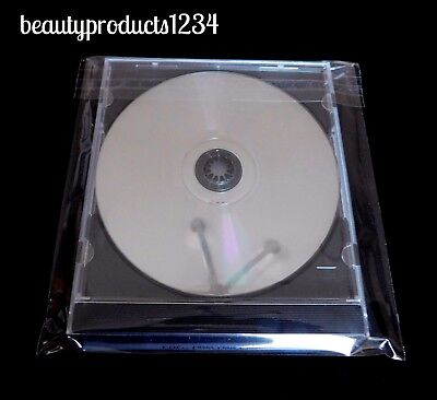 """200 PCS 6"""" x 6"""" CELLO Clear BAGS RESEALABLE CD / Jewelry / Party FAVOR Bag"""