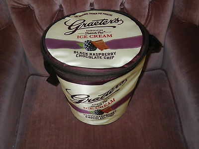Graeter's Ice Cream Black Raspberry Chip Soft Cooler - NEW