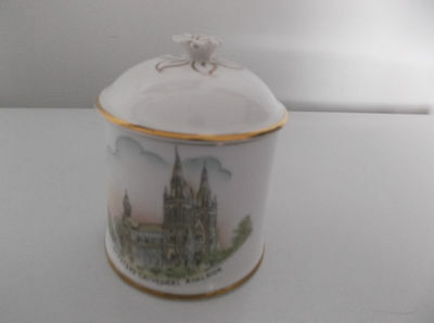 Vintage Royal Stafford England Fine China Sugar Bowl With Lid