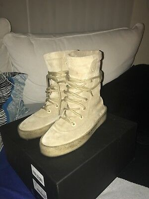 9034da4d939 Yeezy Season 2 Crepe Boot Size US 7 40 Taupe Suede Kanye West 100% Authentic