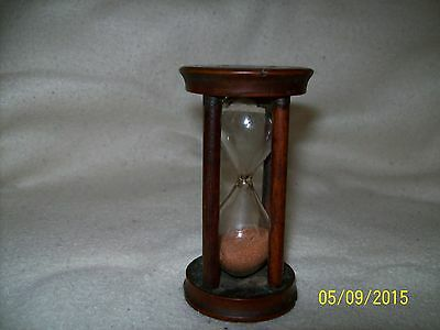 Vintage Trean Wood Egg Timer