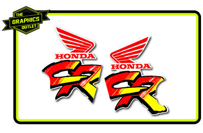 Honda 1991 Cr125 250 Die Cut Oem Style Rad Mx Motocross Stickers Decals Graphics