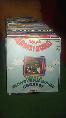 "Single7"" Louis Armstrong - Cabaret...Siehe Foto"