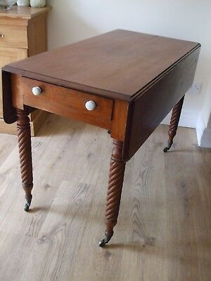 Antique Victorian Mahogany Pembroke Table