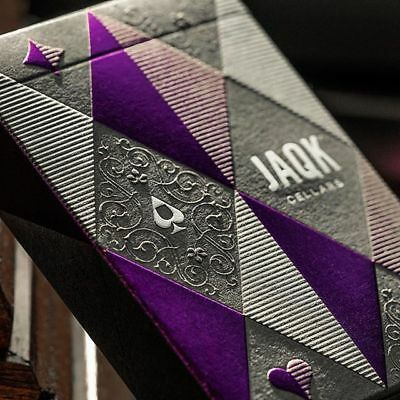 JAQK Amethyst Edition Playing Cards - Rare Limited Luxury Custom Deck - Theory11