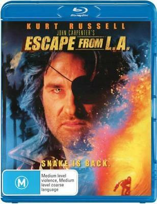 Escape From L.A. Los Angeles Blu-ray Region B New!